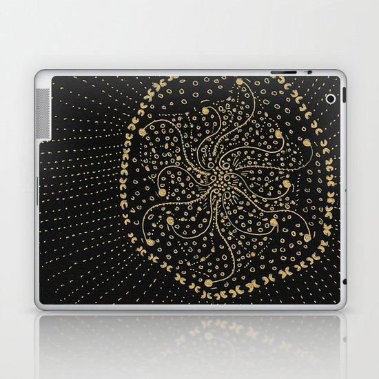 GOLD NO.3 Laptop & iPad Skin