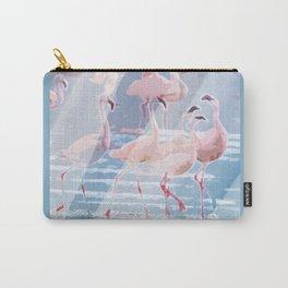 Flamingo Beach Carry-All Pouch