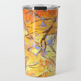 A Fire in the Trees Travel Mug