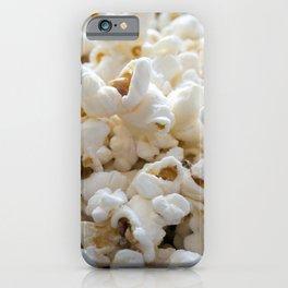 Popcorn Close Up iPhone Case