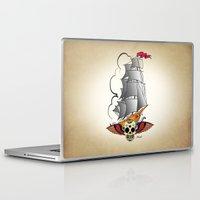 ship Laptop & iPad Skins featuring ship by mark ashkenazi