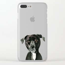 Contemplating Clear iPhone Case