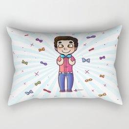 Bow Tie Day Rectangular Pillow