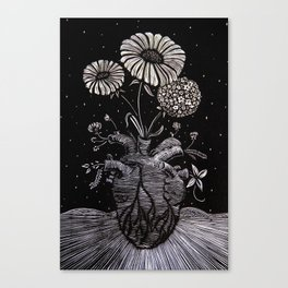Flowers From Within. Canvas Print