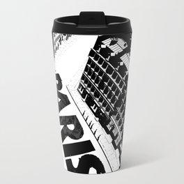 Cities in Black - Paris Metal Travel Mug