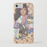 olivia joy iPhone & iPod Cases featuring Olivia by Mel Coleman