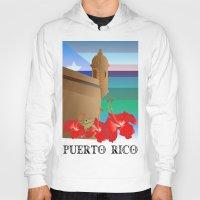 puerto rico Hoodies featuring Puerto Rico by PADMA DESIGNS PR