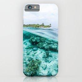 Underwater Maldives iPhone Case