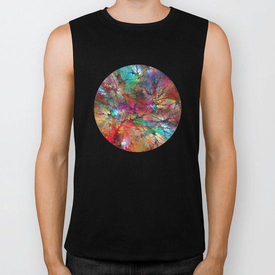 Tree Crowns Biker Tank