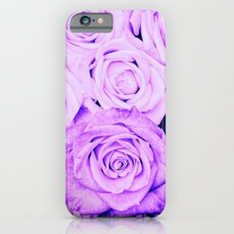 Some people grumble - Floral Ultra Violet Rose Roses Flowers Garden iPhone Case