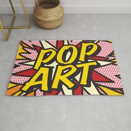 Comic Book POP ART Rug