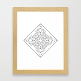 Geometric #1 Framed Art Print
