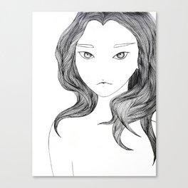 Blank Canvas Print