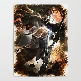 League of Legends JARVAN IV Poster