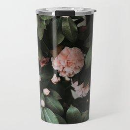 Light Pink Camellias Travel Mug