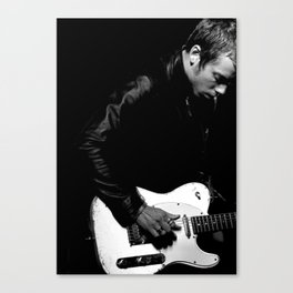 Singer-songwriter - Mads Langer Canvas Print