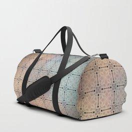 Flowered twilight Duffle Bag