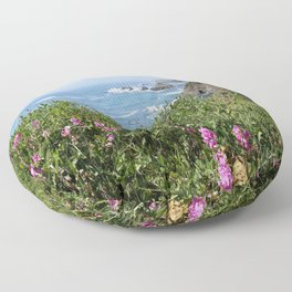 Beautiful North California Coast Floor Pillow
