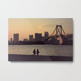 View of Odaiba Metal Print