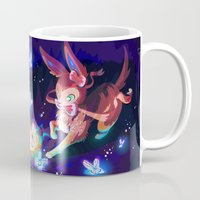sylveon Mugs featuring Sylveon by Katie O'Meara
