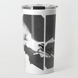 ROCKIT (Black on White) Travel Mug