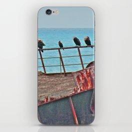 Cormorants Rest iPhone Skin