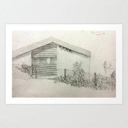 Living in Dachau Art Print