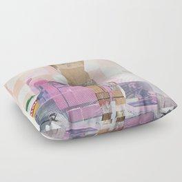 Caster Semenya's Gender Test Floor Pillow