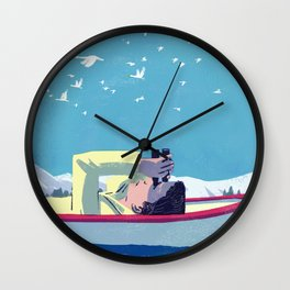 What Do the Birders Know? Wall Clock