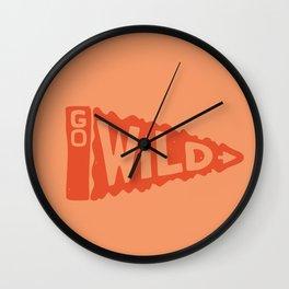 GO W/LD Wall Clock