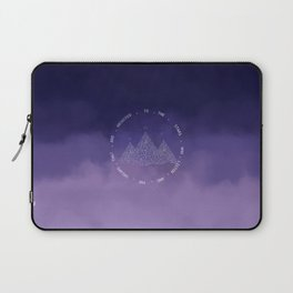 To The Stars Who Listen And The Dreams That Are Answered Laptop Sleeve