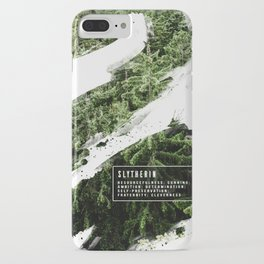 Slytherin Nature iPhone Case