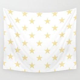 Stars (Vanilla/White) Wall Tapestry