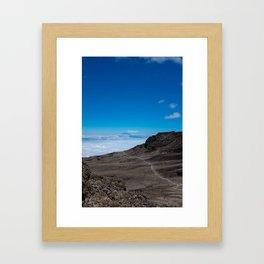 Mt. Meru Framed Art Print