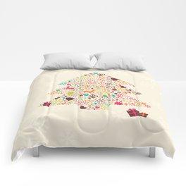 Christmas Tree 01 Comforters
