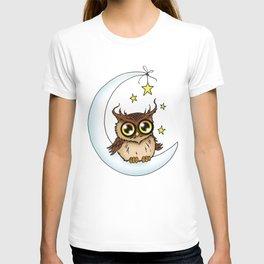 Owl on the Moon T-shirt