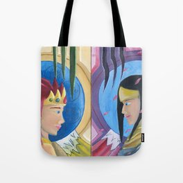 Double Inspired Tote Bag