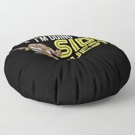 Procrastinating Side Quests Gaming Gift Floor Pillow