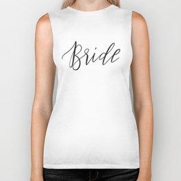 Bride Biker Tank