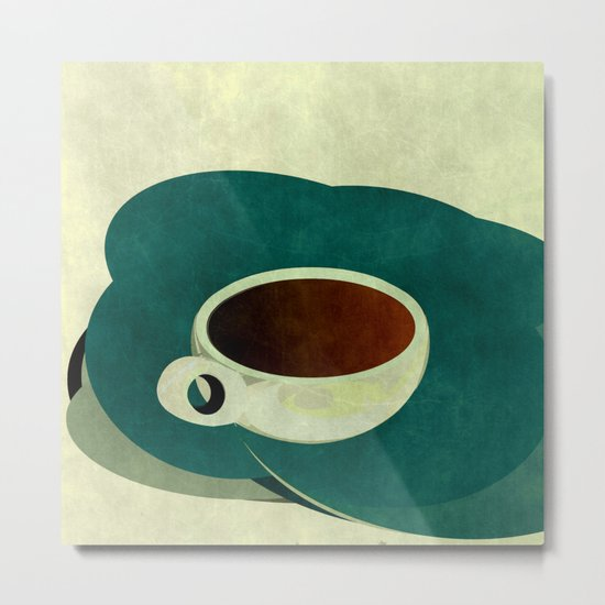 French Roast Coffee Metal Print