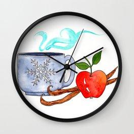 Vanilla Chai Wall Clock