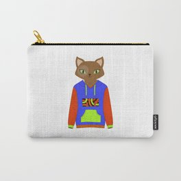 Funky Cat Carry-All Pouch