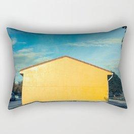 Yellow (amarillo) Rectangular Pillow