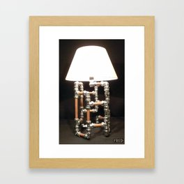 Articulated Desk Lamps - Copper and Chrome Collection - FredPereiraStudios_Page_12 Framed Art Print