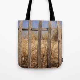 Fence to the Sky! Tote Bag