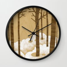 Forest is Alive! Wall Clock