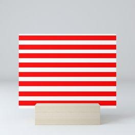 Mariniere marinière variation XI Mini Art Print