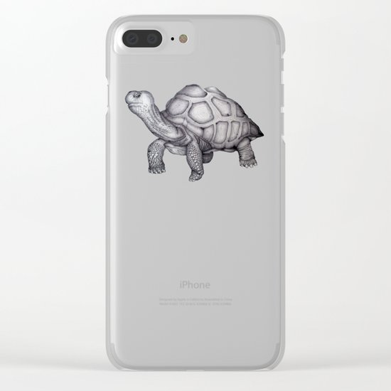 A Little Lonely Clear iPhone Case