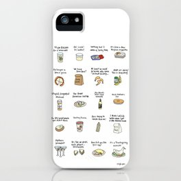 Foods of Arrested Development - Season 4 iPhone Case