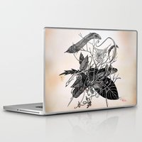 dream catcher Laptop & iPad Skins featuring Dream Catcher by brenda erickson
